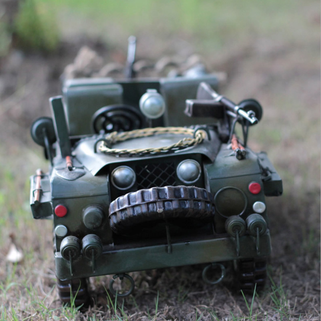 Cool Car Model Large Army Jeeps Chariots Mode Iron Best Gift For - Cool car models