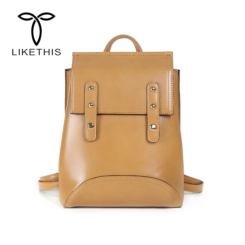 Fashion High Quality PVC Leather Backpacks Women Backpack European and American Style Girls Female School Bags BXLL2760