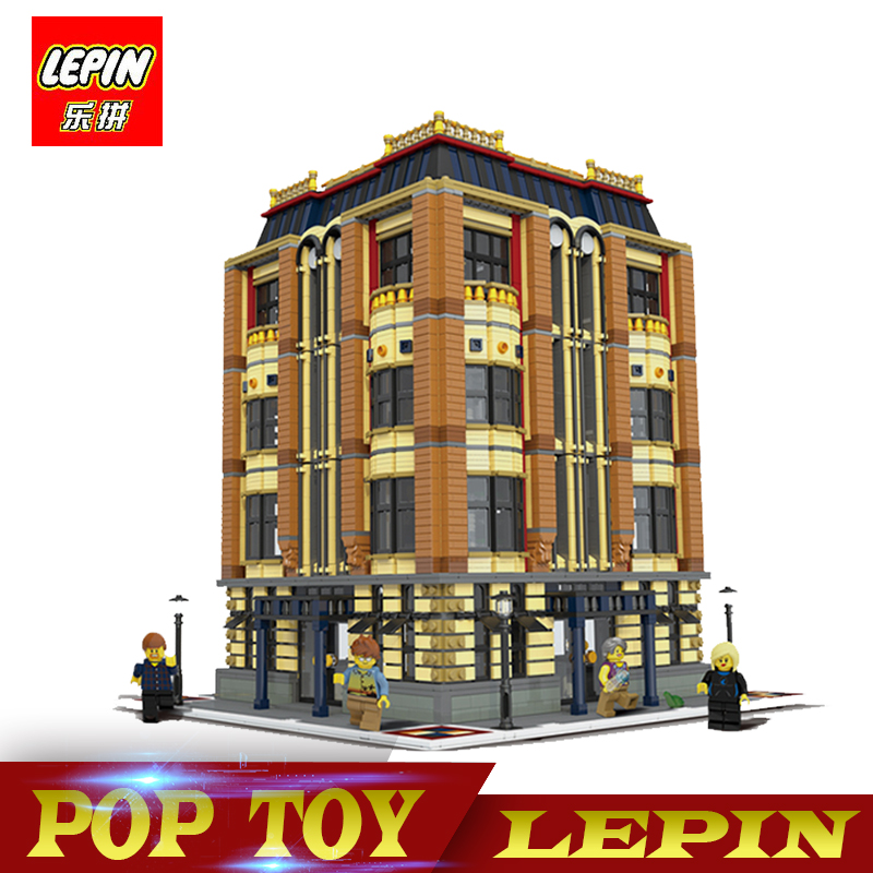 DHL Lepin 7968 pz 15016 Genuino Serie MOC La Apple Università Set Building Blocks Mattoni Compatibile Con Legoed Educativi