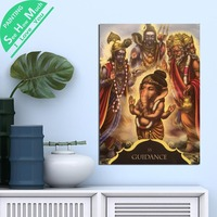 1 Piece Buddha Ganesh Guidance 33 HD Printed Canvas Wall Art Posters and Prints Poster Painting Framed Artwork Room Decoration