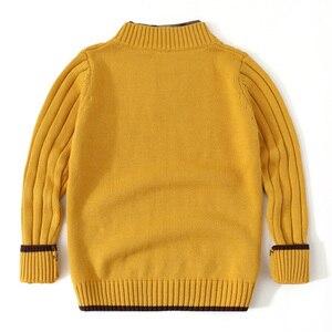 Image 3 - Jersey para adolescente, ropa de punto, cárdigan de manga larga para niño y adolescente, suéter para niño pequeño, Tops blancos para niño de 3 a 12 años