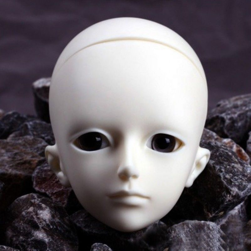 [wamami] AOD 1/4 BJD Dollfie Girl Doll Parts Single Head (Not Include Make-up)~Lan [wamami] aod 1 3 bjd dollfie girl set free face up eyes yuki