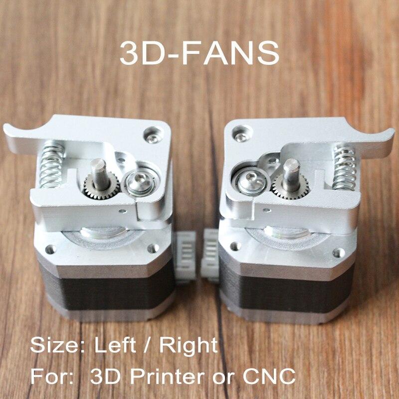 Piezas de impresora 3D Makerbot MK8 extrusora directa II generación MK10 I3 Kit extrusor aleación de aluminio izquierda/derecha 1,75mm|parts 3d printer|mk8 extruder partsmk8 extruder kit - AliExpress