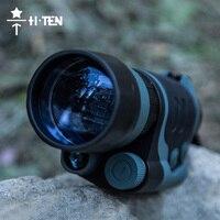 HTEN Infrarouge Fusil de Vision Nocturne Chasse Lunettes Portée Dispositif Riflescope Lunette Monoculaire Dispositif Auxiliaire Ir Illuminateur