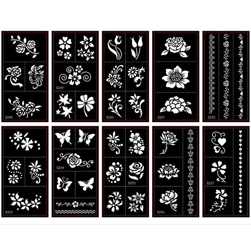 tatuagem de flor template atacado 04