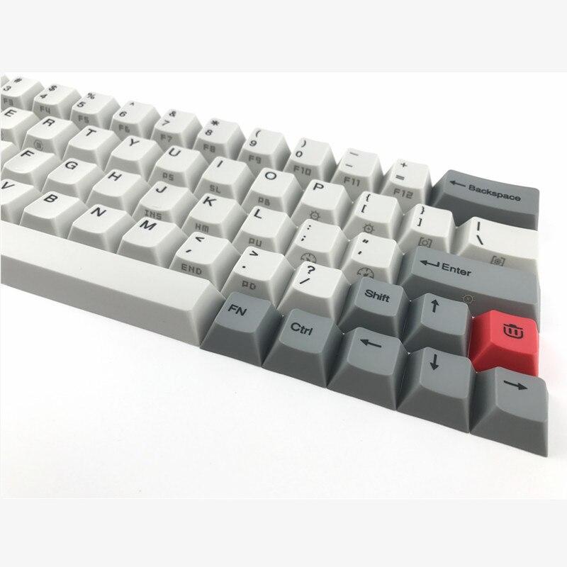 Cool Jazz GK64 XD64 PBT keycap cherry profile 2U Shift layout dye