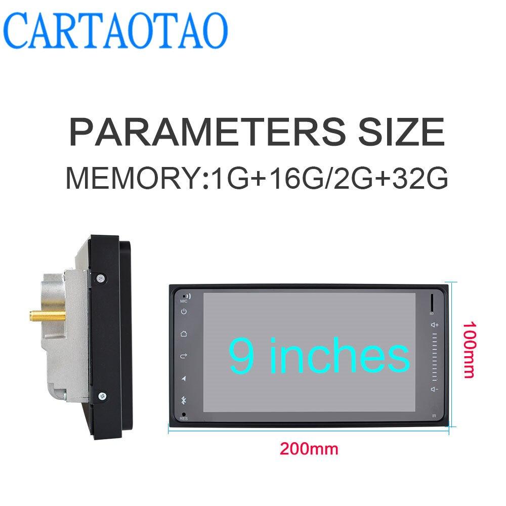 2 din android reproducteur multimédia BT GPS radio 7 pulgadas adapté forToyata Camry/VIOS/CORONA/Altis/corolle 200 MM * 100 MM - 3