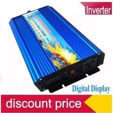 1500W sine okuhlanzekile wave inverter Free shipping 1500W Pure Sine Wave Power Inverter, 12v to 230v power converter