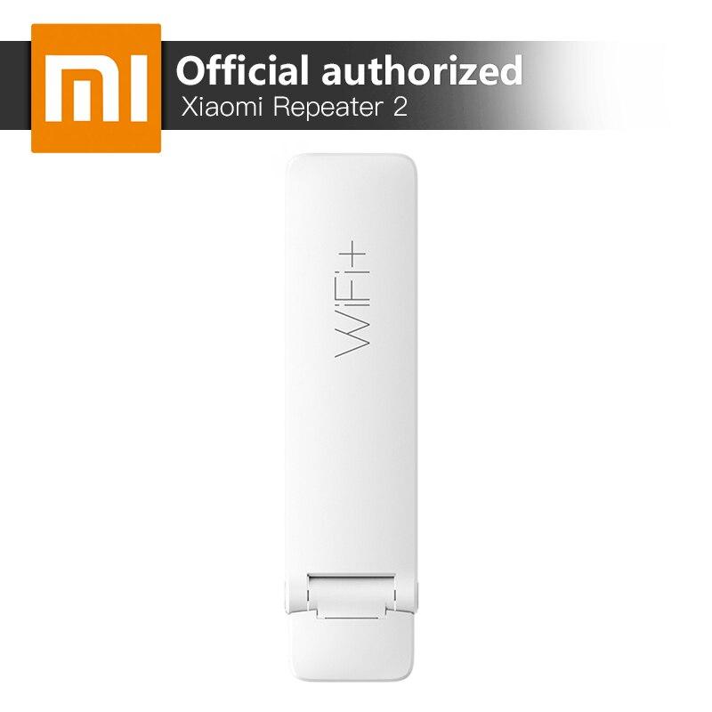 Original Xiaomi mi repetidor WiFi 2 extensor 300 Mbps señal de mejora de la red de Router inalámbrico amplificador Universal Repitidor