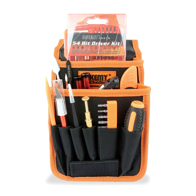 JAKEMY JM-P12 Complete Mobile Phone Repair Tool Screwdriver Set Portable Electronic Dismantle Tools Kit For Iphone Hand Tool Set