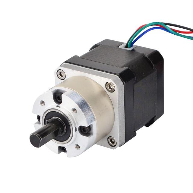 Nema 17 Stepper Motor 42 Motor Extruder Gear Stepper Motor 5.18:1 Planetary Gearbox 1.68A 4-lead  Nema17 Step Motor