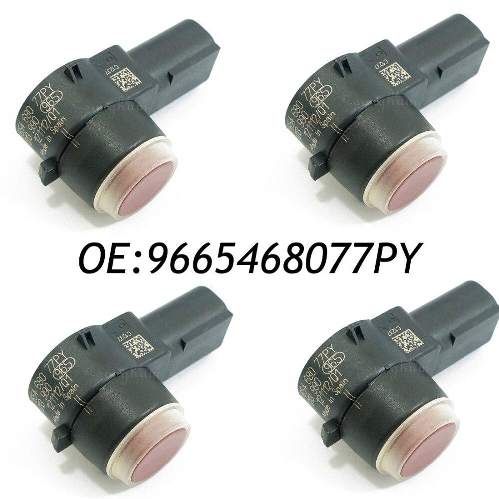 4 шт. для PSA 9665468077PY датчик парктроника PDC бампер резервного копирования Assist 0263013990