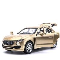 High Simulation Maserati Levante Alloy Model Cars 1 32 Exquisite Design With Pull Back SUV Car