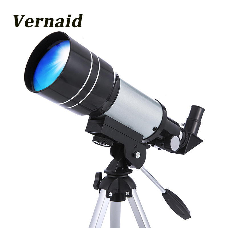 F30070M Monocular Professional Space Astronomic Telescope with Adjustable Tripod Lever Outdoor for beginners