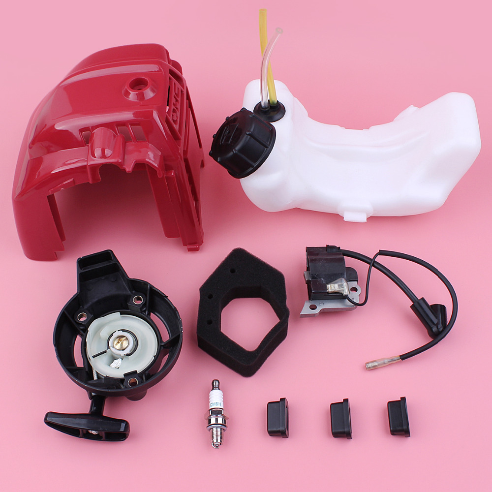 Top Cylinder Engine Cover Shroud Recoil Starter For Honda GX25 GX 25 Small Engine Ignition Coil Fuel Tank Mounting Air Filter