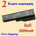 Jigu 5200 mah batería para ibm lenovo 3000 n500 g430 g450 g530 g550 g555 g455 b550 b460 6 células