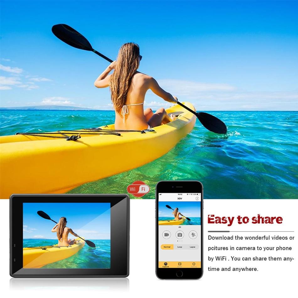 HTB1j5IkatcnBKNjSZR0q6AFqFXaw - Caméra Action Ultra HD 4K Sports Wifi + Accessoires + Trépied  - Silver