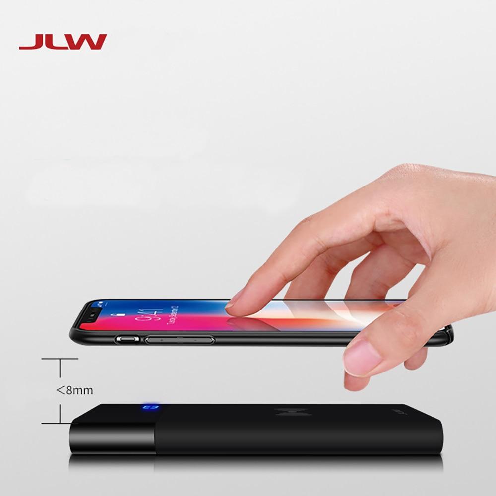 5000 mAh Qi chargeur sans fil batterie externe pour iPhone X XS chargeur de batterie externe rapide sans fil Powerbank pour Samsung S9/8 Note 95000 mAh Qi chargeur sans fil batterie externe pour iPhone X XS chargeur de batterie externe rapide sans fil Powerbank pour Samsung S9/8 Note 9