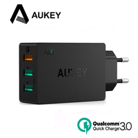 AUKEY Quick Charge 3 0 USB Charger EU US Plug Portable Travel Wall Charger For Samsung