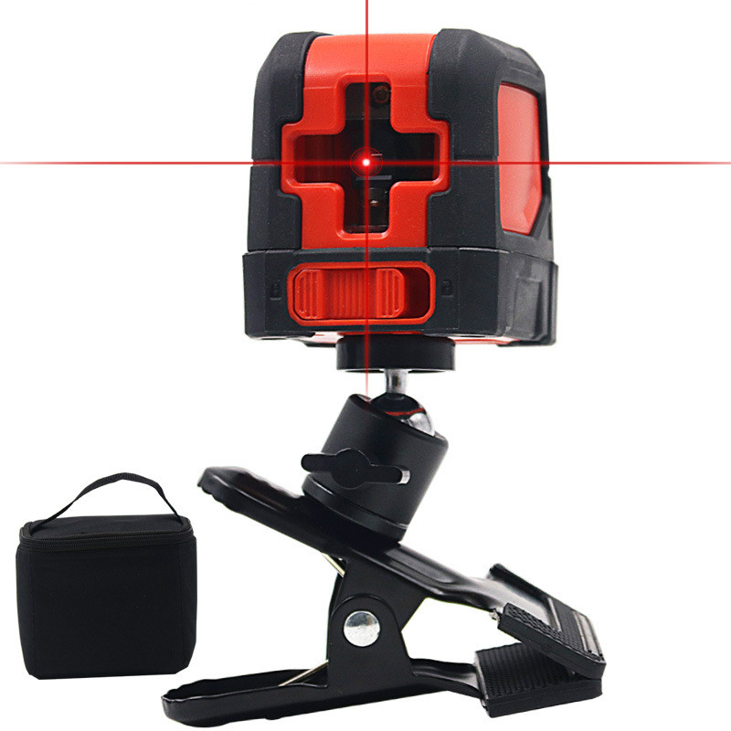 High-precision infrared laser level micro-miniature portable automatic line casting instrument Crosshair kapro clamp type high precision infrared light level laser level line marking the investment line