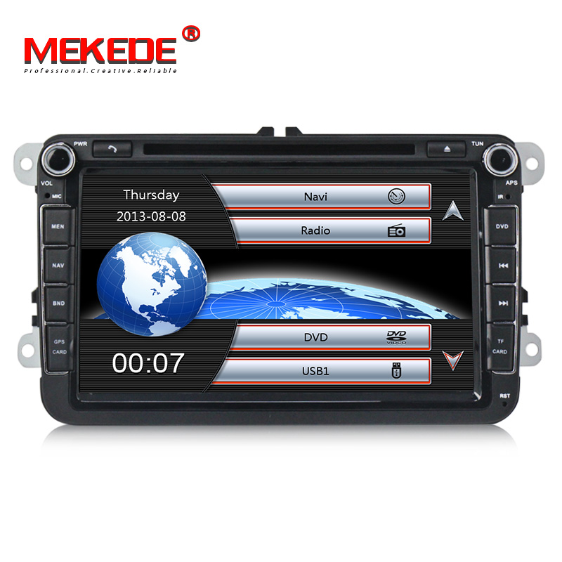 MEKEDE 2 DIN Car DVD GPS Radio stereo for  Volkswagen golf 4 golf 5 6 touran passat sharan caddy t5 polo tiguan transporter MEKEDE 2 DIN Car DVD GPS Radio stereo for  Volkswagen golf 4 golf 5 6 touran passat sharan caddy t5 polo tiguan transporter