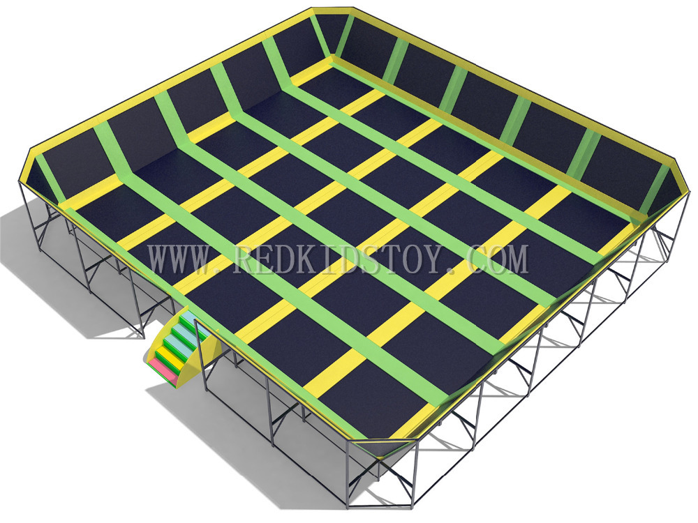 Ihram Kids For Sale Dubai: Super Quality Big Trampoline Park CE Certified Large