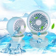 Mini Portable Air Conditioning Fan USB Mist Spray Home Office Cooling Humidifier New USB Gadgets Fan For Office For Outside