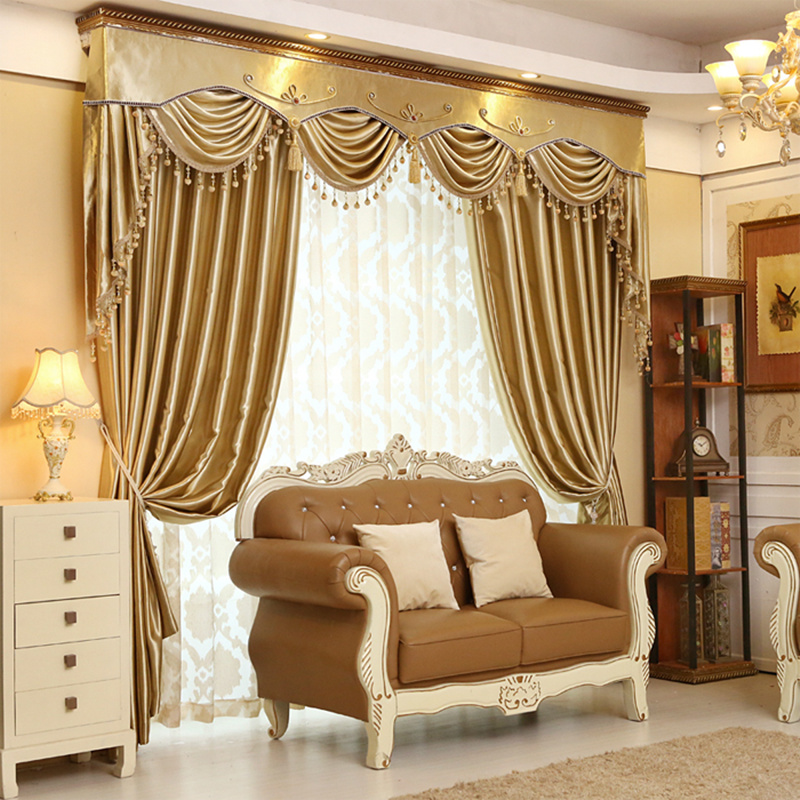 Compare Prices on Luxury Gold Curtains Living Room Online