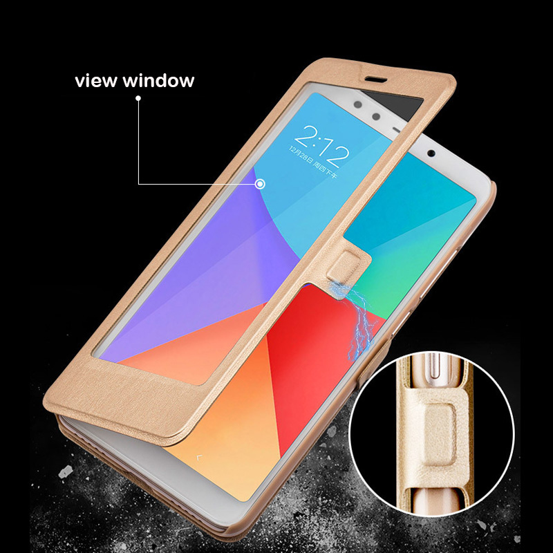 Full Window Stand Leather <font><b>Case</b></font> For <font><b>Xiaomi</b></font> <font><b>Redmi</b></font> <font><b>6A</b></font> <font><b>Case</b></font> Magnet Smart Flip <font><b>Cover</b></font> For <font><b>Xiaomi</b></font> <font><b>redmi</b></font> <font><b>6A</b></font> Redmi6 <font><b>6</b></font> Pro <font><b>Xiomi</b></font> image