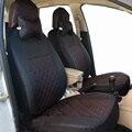 Tampa de assento do carro preto fit para hatchback e sedan rear seat back splite 40/6 ornot frente e para trás mesmo material tampas de assento