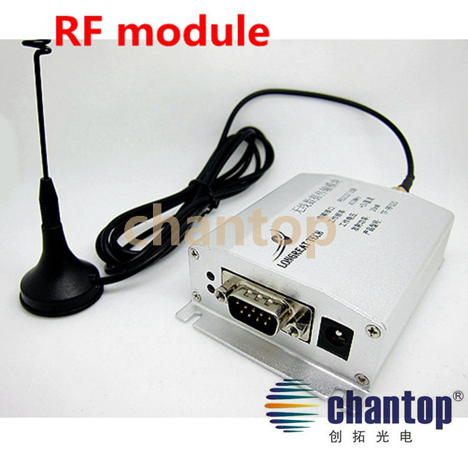 RF wireless communication module for TF led control card RS232 / serial port sending / receiving module freeshipping rs232 to zigbee wireless module 1 6km cc2530 chip