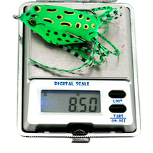 New Lot 5Pcs Soft Plastic Fishing lures Frog lure With Hook Top Water 5.5CM 8G Artificial Fish Tackle