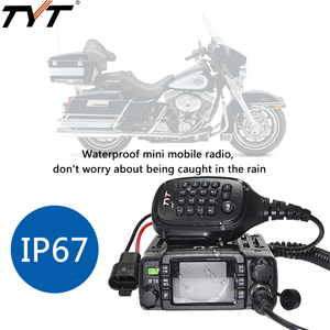 Image 5 - TYT TH 8600 IP67 Waterproof Dual Band 136 174MHz/400 480MHz 25W Car Radio HAM Mobile Radio with Antenna,Clip Mount,USB Cable