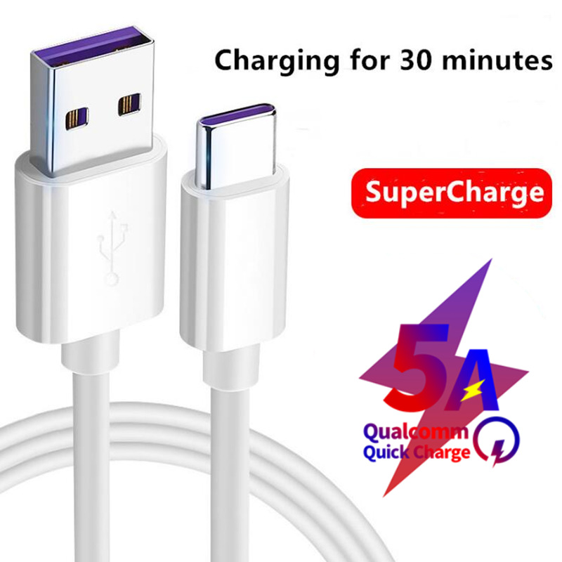 Data-Cord Supercharge Huawei Mate10 Type-C USB For P10 P20 Pro Mate10/Pro/Mate/..