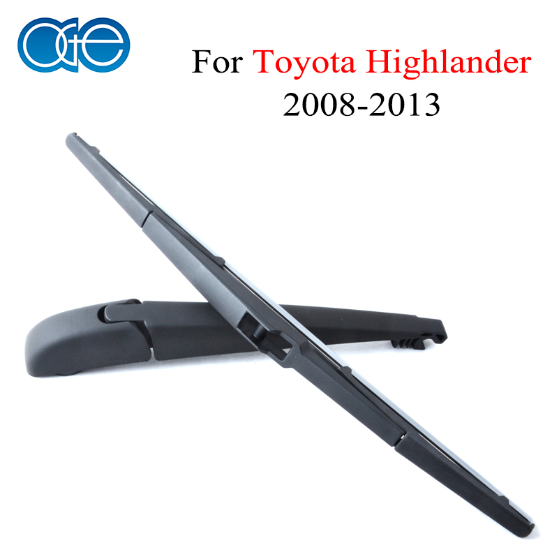 Oge 12 Rear Wiper Blade And Arm For Toyota Highlander 2009 2010 2011 2012 2013 Windscreen Car Auto Accessories