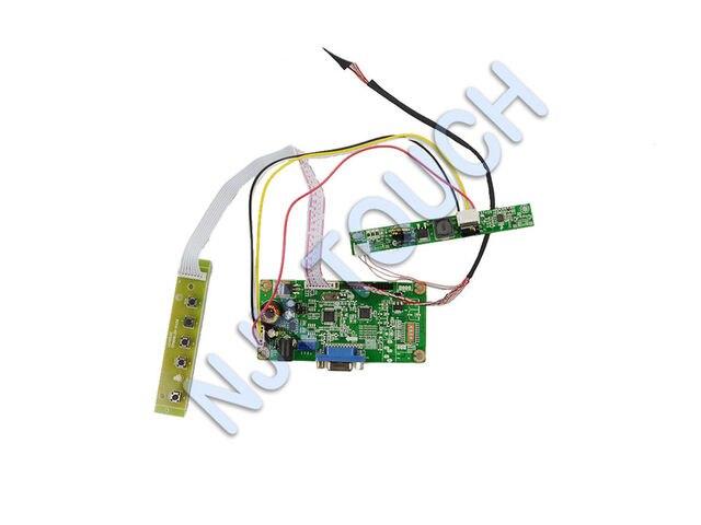 Бесплатная Доставка 1280x800 ЖК плата контроллера VGA LVDS для LTN133AT09 13.3 дюймов 1280x800 СВЕТОДИОДНЫЙ Дисплей TFT ЖК-панель полный комплект DIY