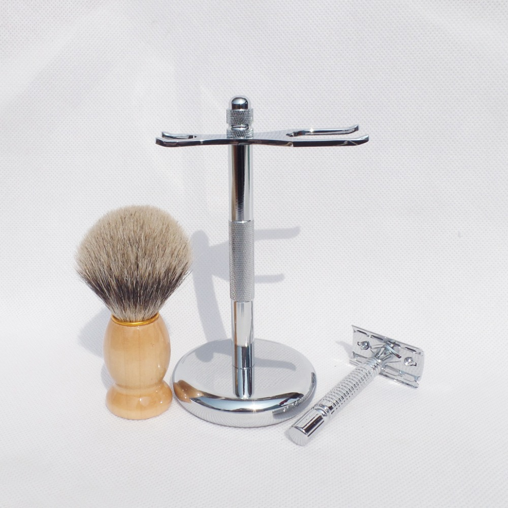 shaving brush razor stand