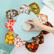 Creative Plastic Storage Box for Seeds Nuts Candy Dry Fruits Case Plum Type Lunch Container Kids Protect Fruit Organizer