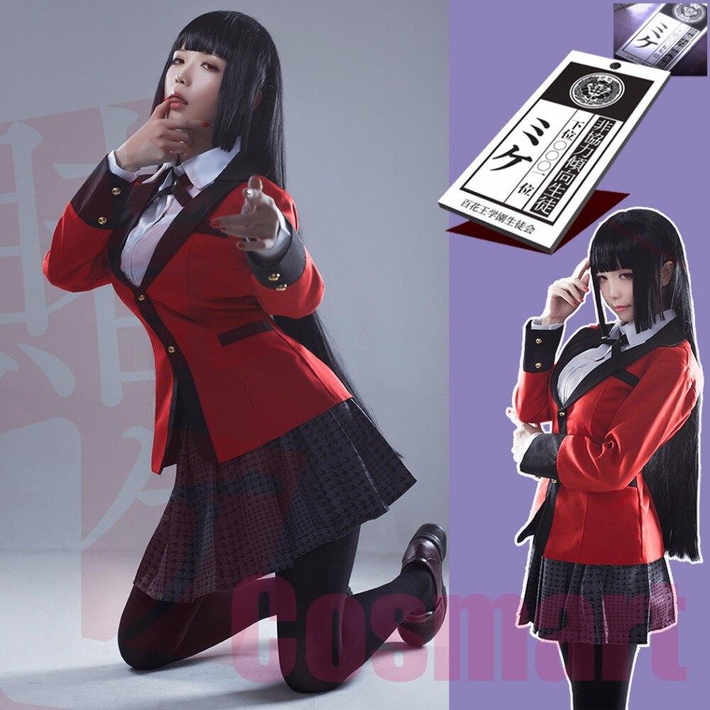 STOCK+Wig+NeckCard Anime Kakegurui Figure Jabami Yumeko ...