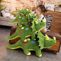 40-100 cm Kreative Große Plüsch Weichen Triceratops Stegosaurus Plüsch Spielzeug Dinosaurier Puppe Stofftier Kinder Dinosaurier Spielzeug Geburtstag geschenke