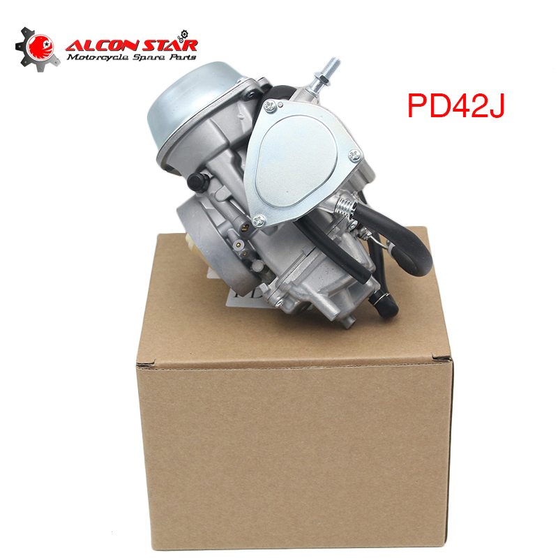 Alconstar 42mm Carburetor PD42J For 500cc 600cc 700cc Scooter Engine ATV UTV Yamaha Honda Moto Model