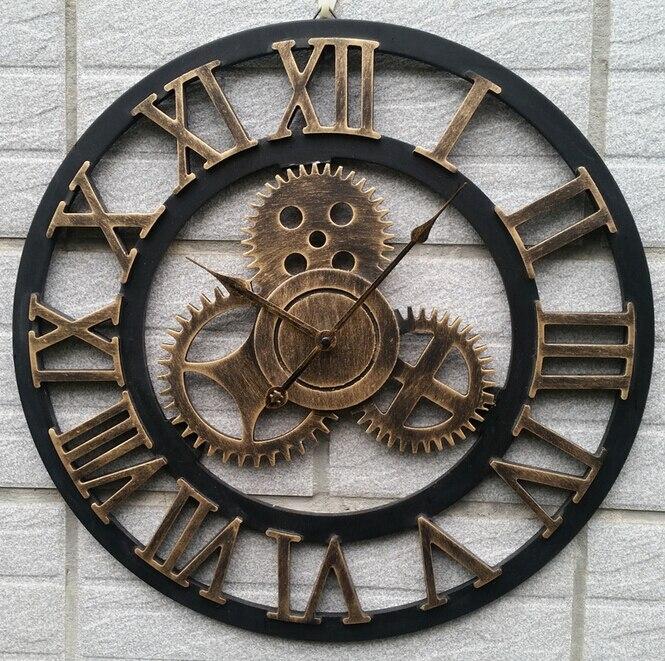 Popular Large Vintage Wall Clocks Buy Cheap Large Vintage Wall