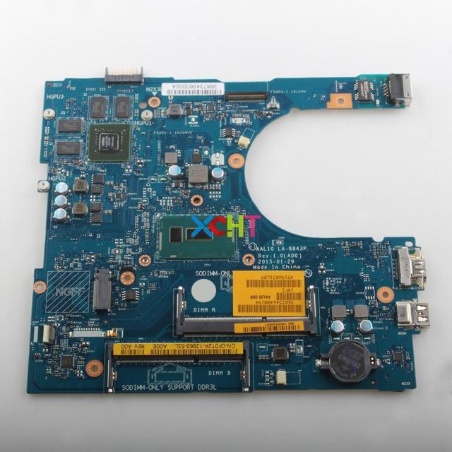 CN 0F0T2K 0F0T2K F0T2K AAL10 LA B843P w 3205U CPU 920 M/1 GB GPU für Dell 5458 5558 5758 Laptop notebook PC Motherboard Mainboard