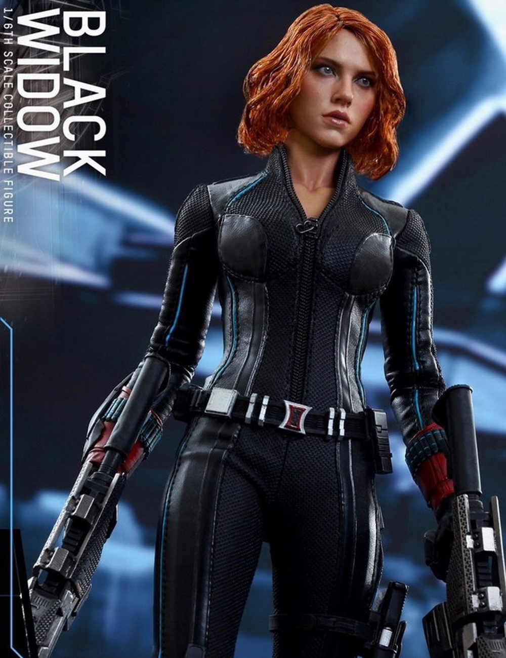 MMS288 1/6 Black Widow 4.0 Action Figure Captain America Avengers HT Collection Figure Models 1