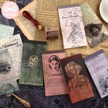 Mr Paper 24 unids/lote 12 diseños Estilo Vintage literatura famosa mujeres autoras Bloc de notas creativas artísticas hojas sueltas Bloc de notas