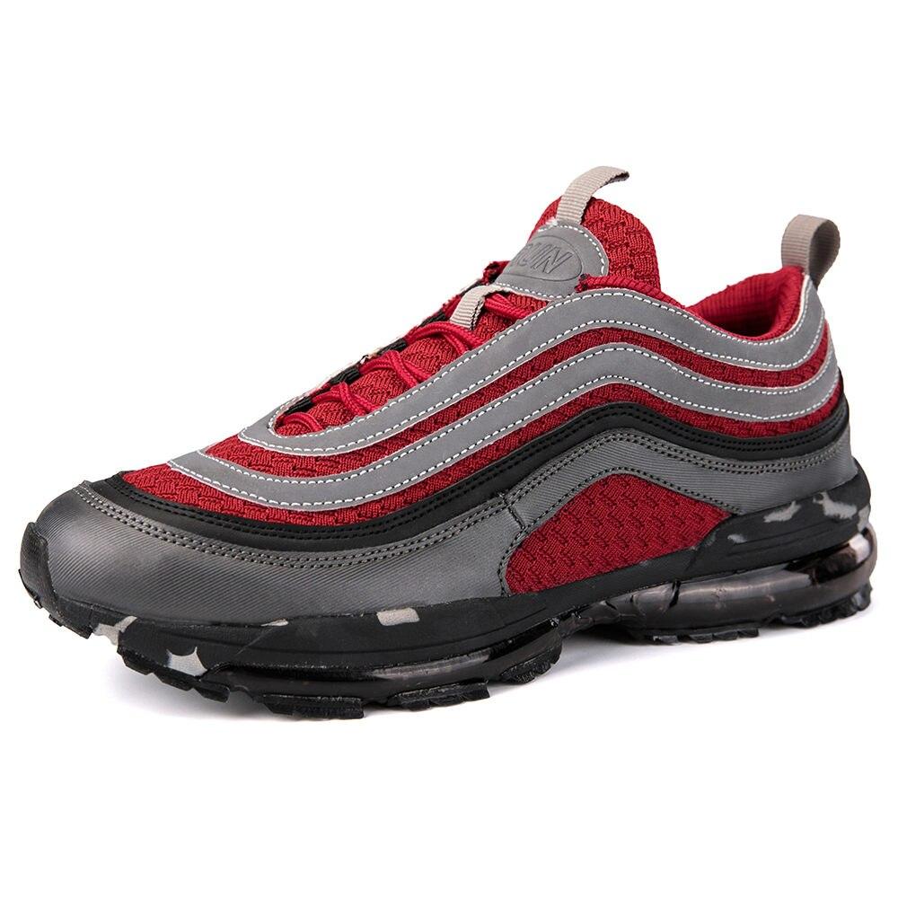 Men's Light Running shoes for men 2018 Brand Training Fitness Jogging Shock retro Sports Shoes OG Silver Bullet 3M Sport shoes Men Shoes
