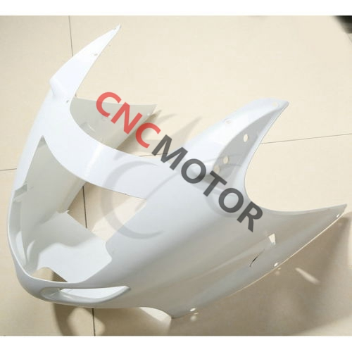 Unpainted ABS Injection Mold Upper Front Nose Fairing Kit Body Work For Honda CBR1100XX 1996-2007 01-02-03-04-05-06-07 hot sales cbr 1100 xx 96 07 body kit for honda cbr1100xx 1100 blackbird 1996 2007 blue motorcycle fairings injection molding
