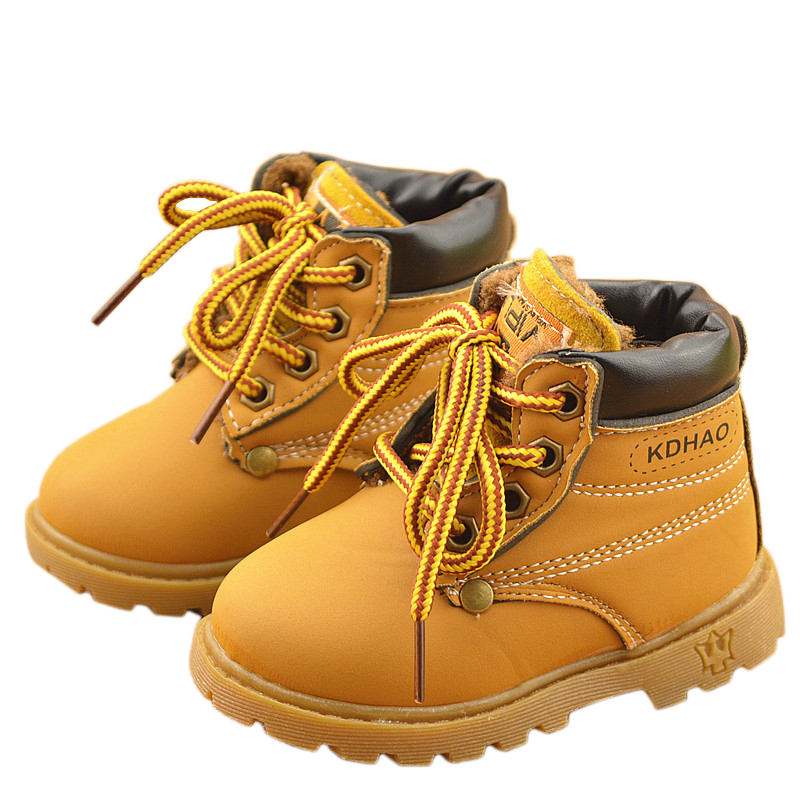 7574d5d020de 2016 Autumn Winter Children Fashion Martin Boots Girls Boys Boots ...