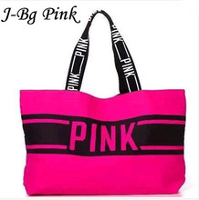 2016 bolsa feminina women bag victoria designer handbags high quality bag over shoulder pink large shopper canvas bags 2 Colors