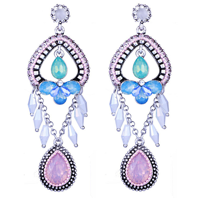 Aliexpress.com : Buy Vintage Bohemian Earrings For Women Hand ...
